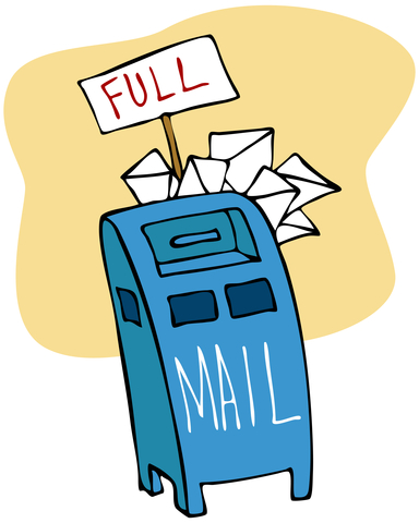 http://www.dreamstime.com/stock-photography-full-mailbox-image17589552