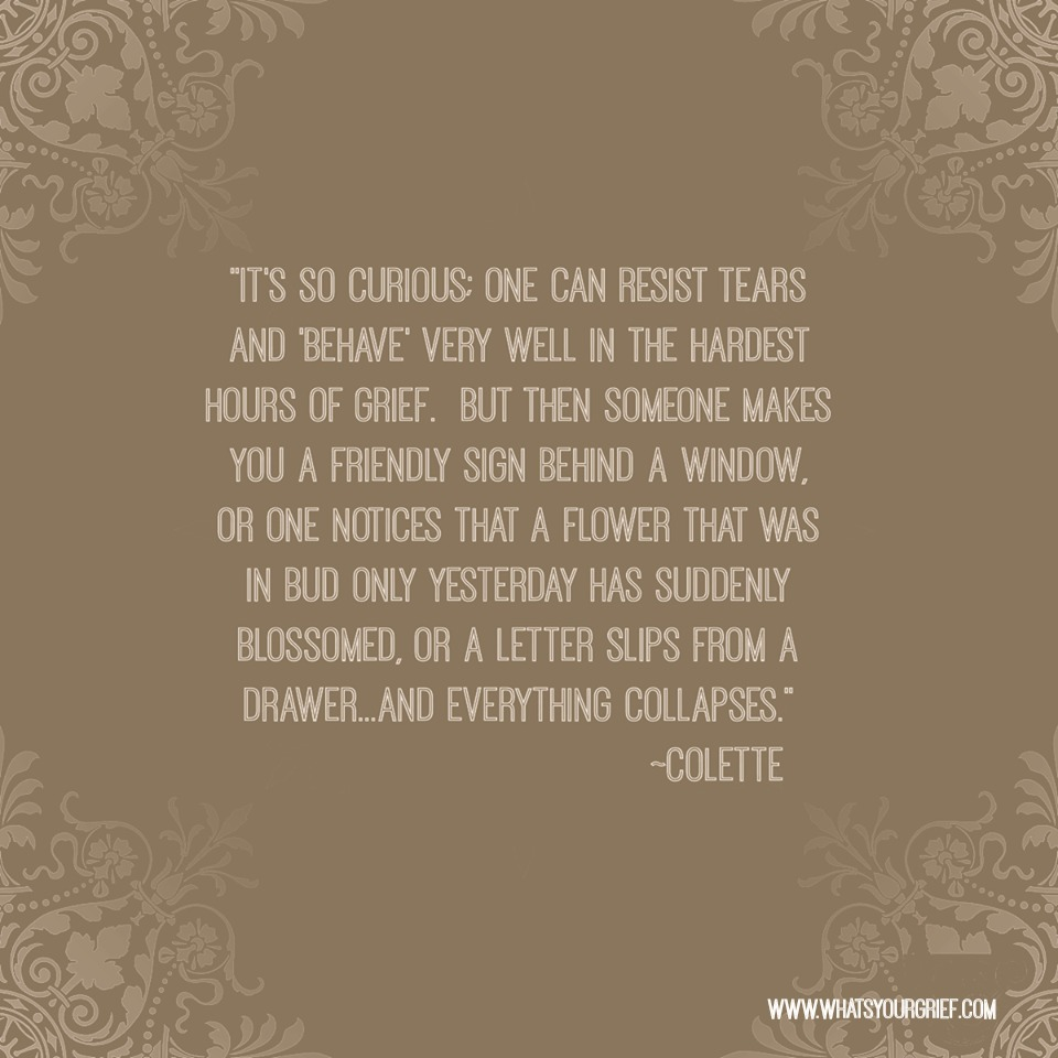 quotes about grief coping and life after loss what s your grief colette