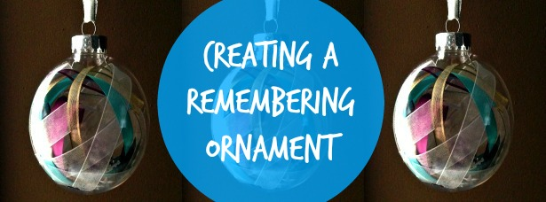 remembering ornament