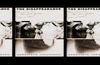 book cover the disappearance by Genevieve Jurgensen