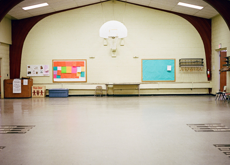 a church gym