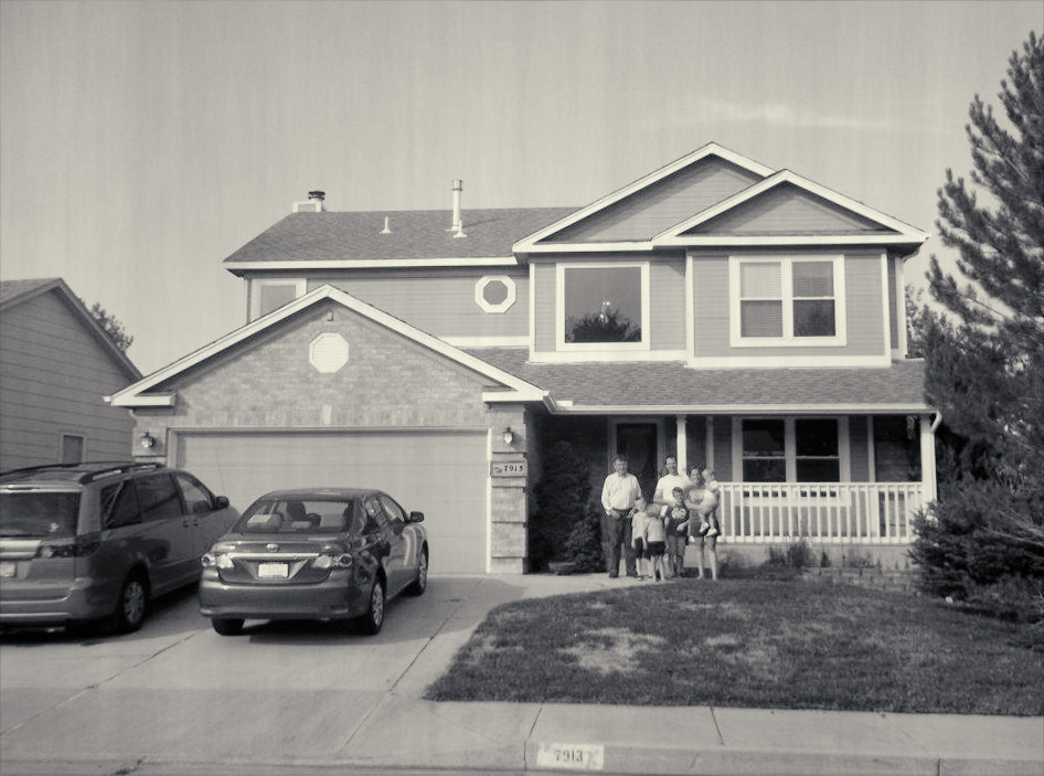 our first 'new' home