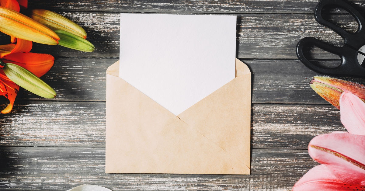 How to write a sympathy card