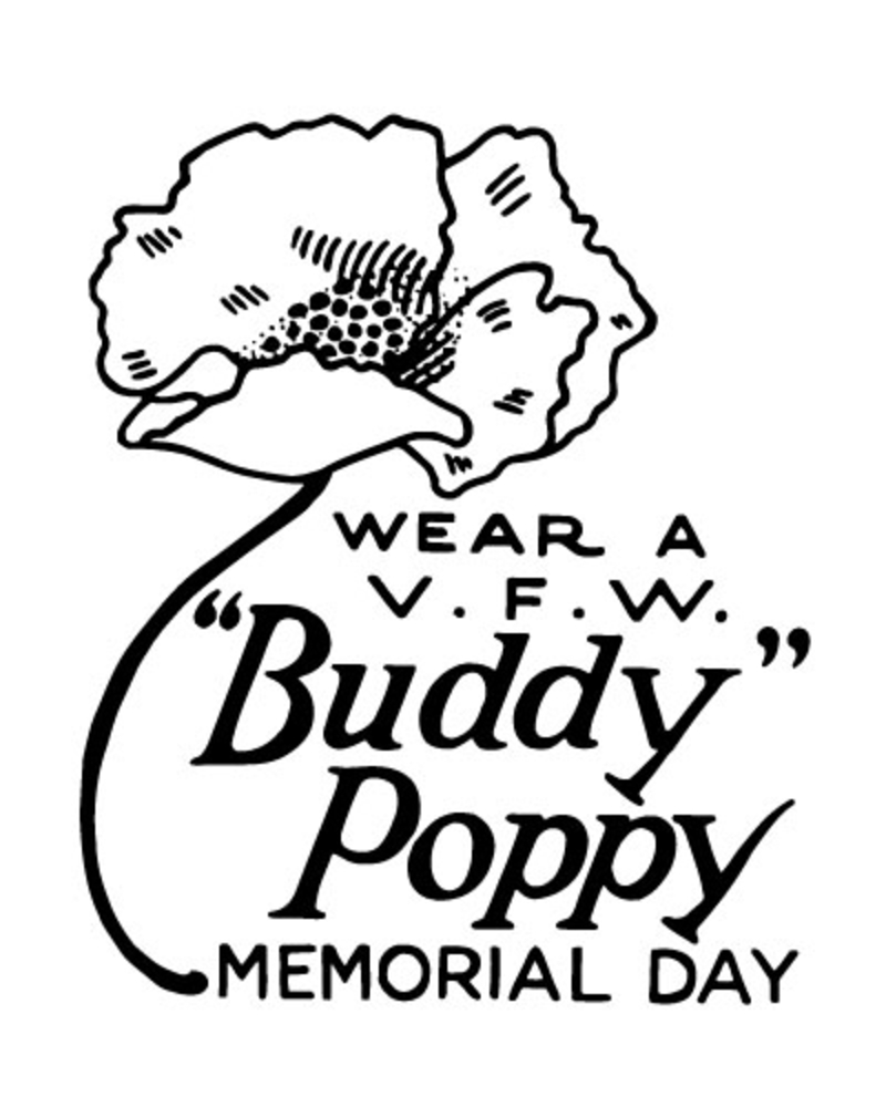 buddy poppy poster
