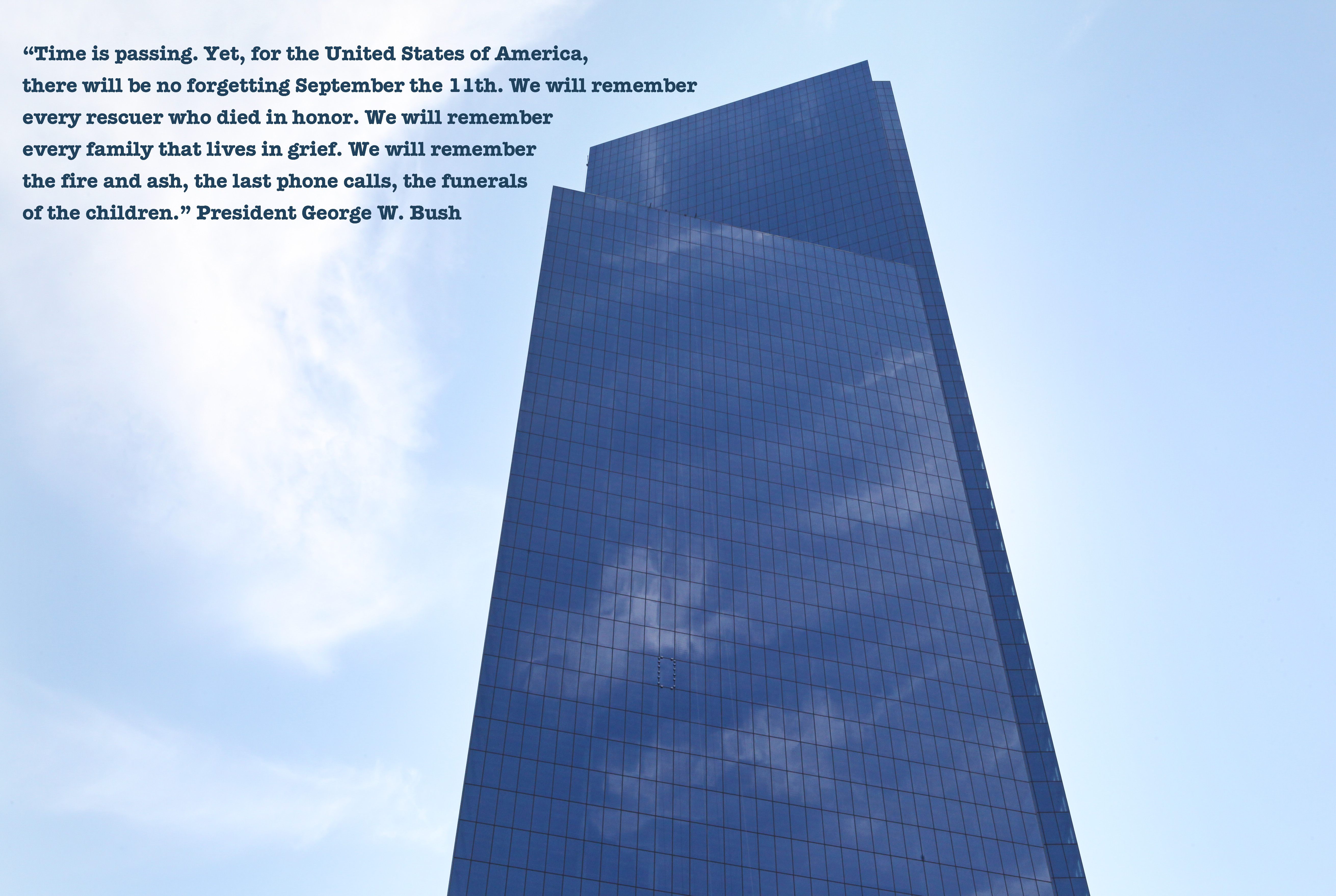 9/11 george bush quote