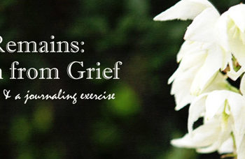 Growth from Grief (and a Journaling Exercise)