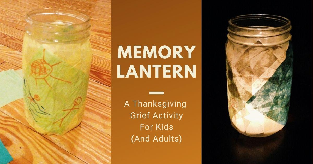Grief Activity - Memory Lantern
