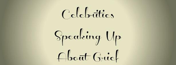 celebrities grief
