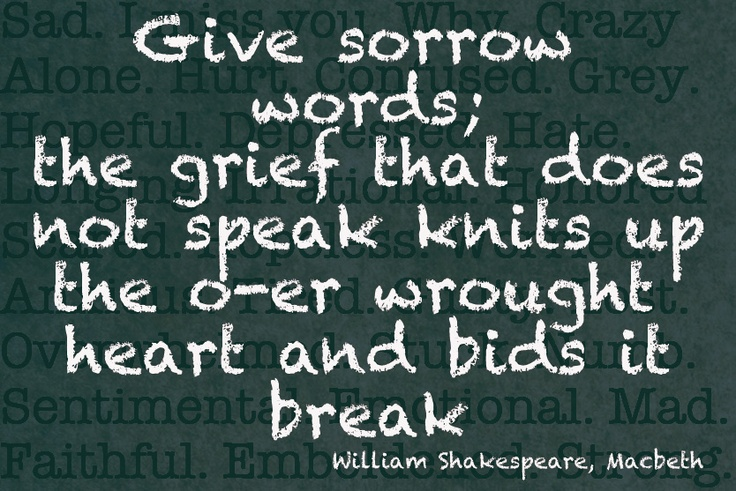 give grief words