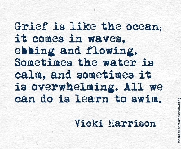 grief is like an ocean