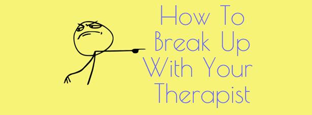 how to break relationship