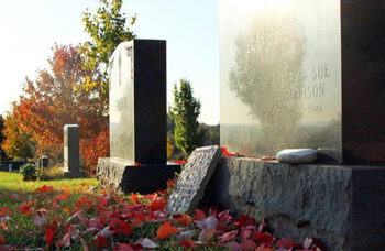 grave grief and photography