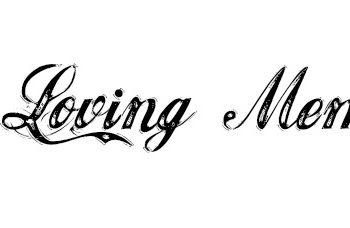 in loving memory; grief tattoos
