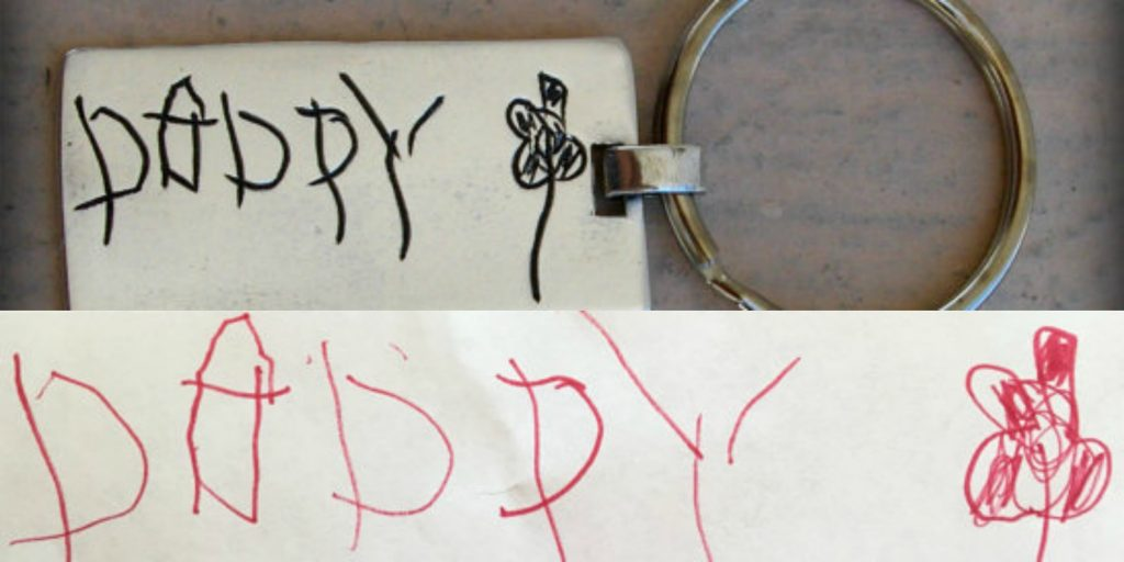daddy handwriting 3