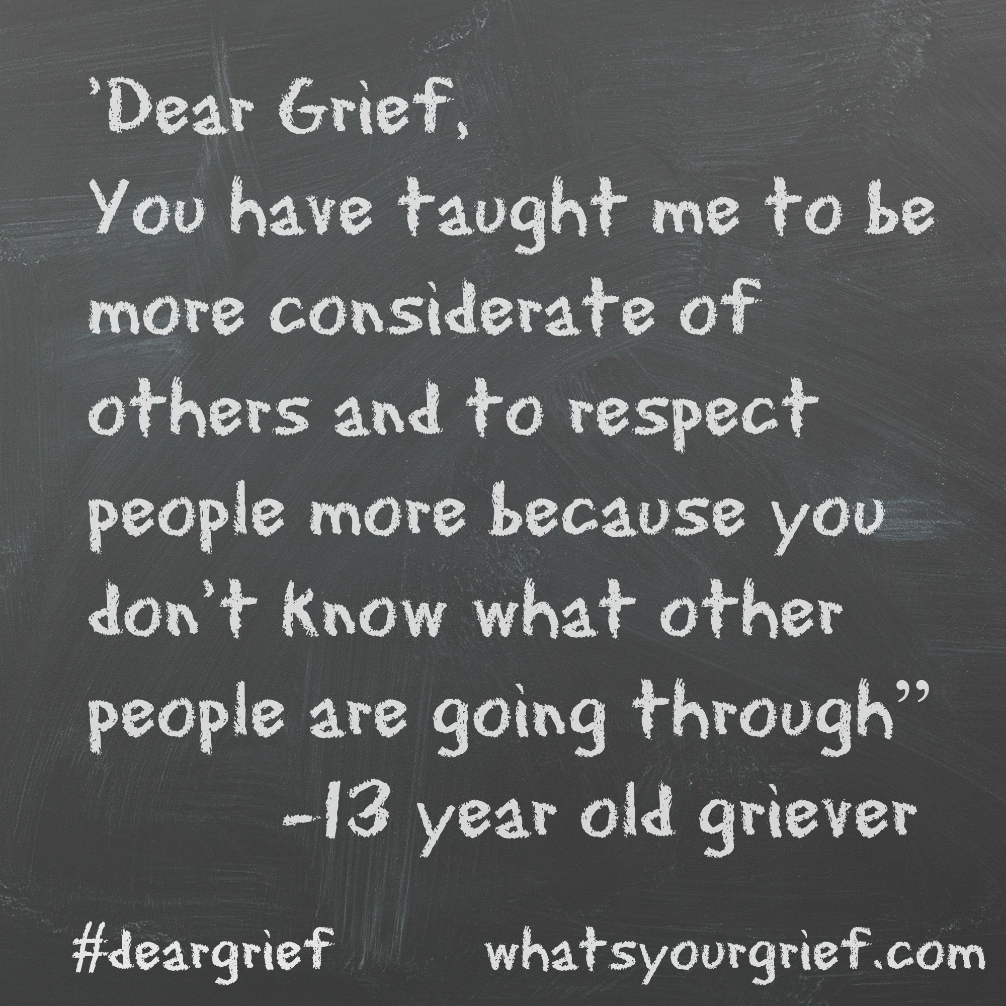dear grief what s your grief