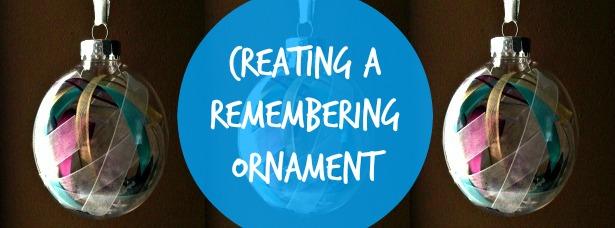 remembering ornament