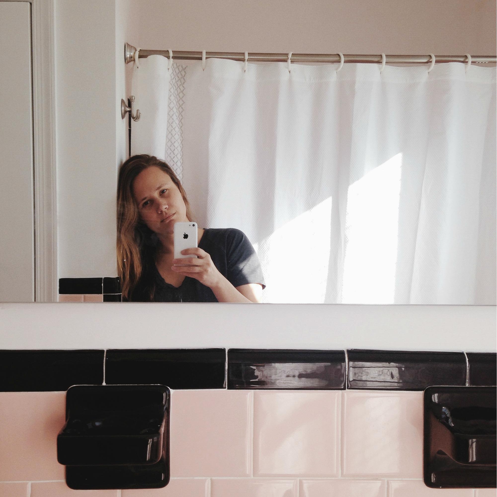 grief selfie