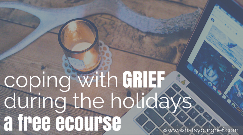 thanksgiving grief ecourse