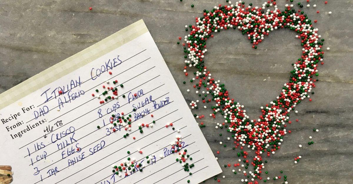 Grief Recipe Stories - Cookies