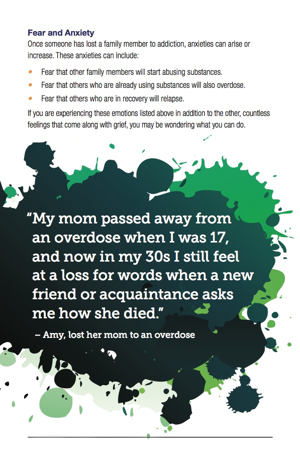 Surviving the Grief of an Overdose Death