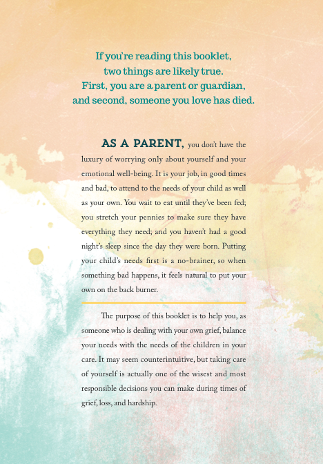 Parenting While Grieving: A survival guide