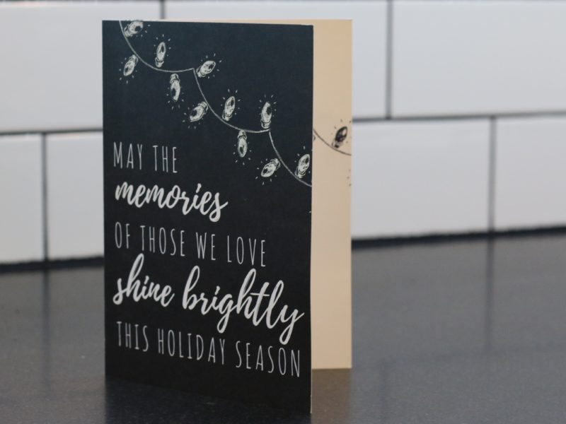 A Mother's Grief: Our Christmas Card especially for you  |Christmas Cards For The Grieving