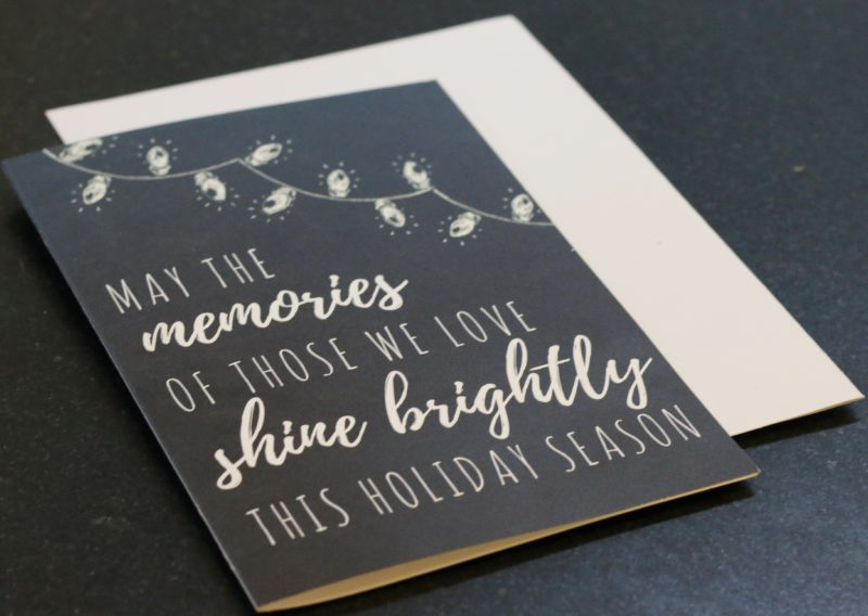 Remembering Ornament: A Holiday Grief Activity for Kids ...  |Christmas Cards For The Grieving