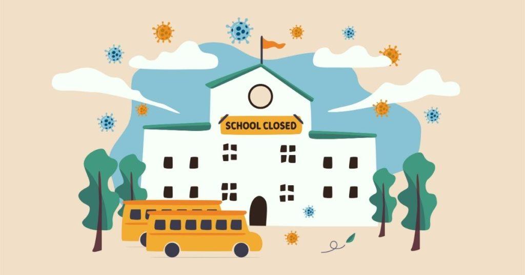 COVID grief school
