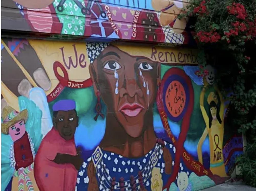 Jamel grief and memorial murals