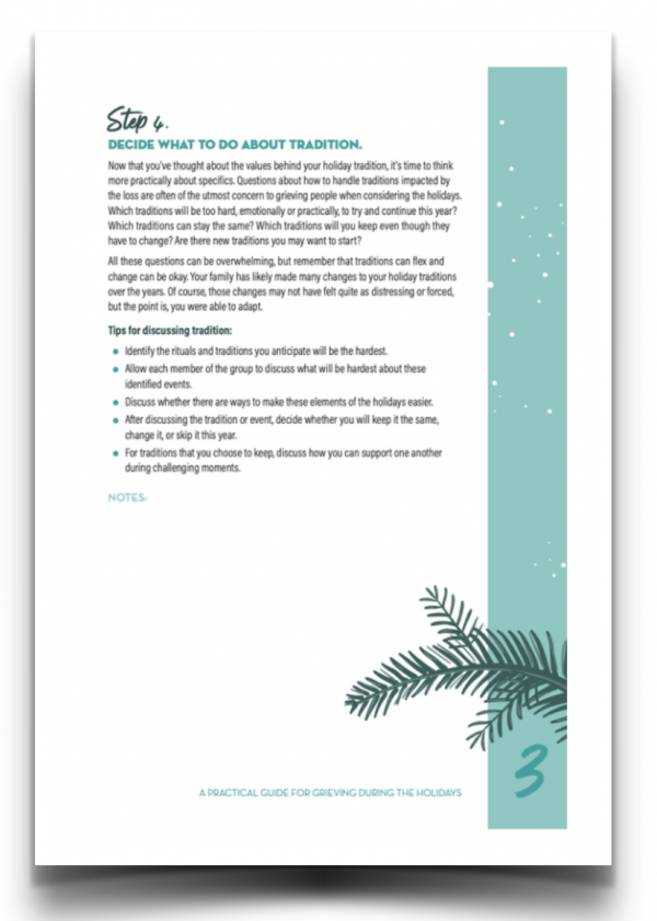 holiday grief resource